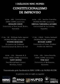 I NINC-NUPED Dialogues: Improvisational Constitutionalism