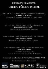 II NINC-NUPED Dialogues: Digital Public Law